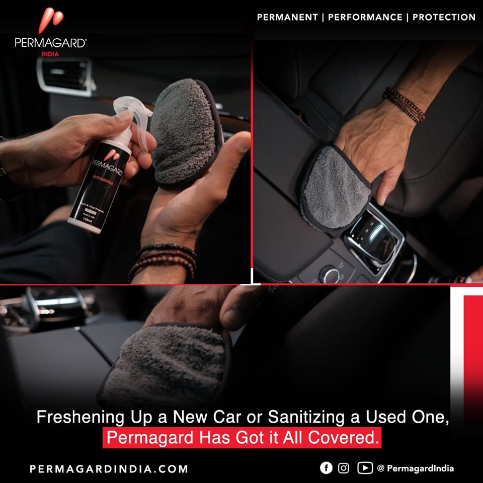 Permagard Car Sanitizer