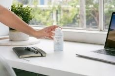 Antimicrobial shield disinfectant