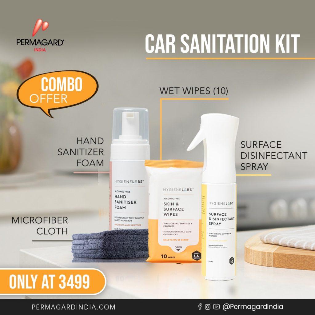 Car sanitization kit