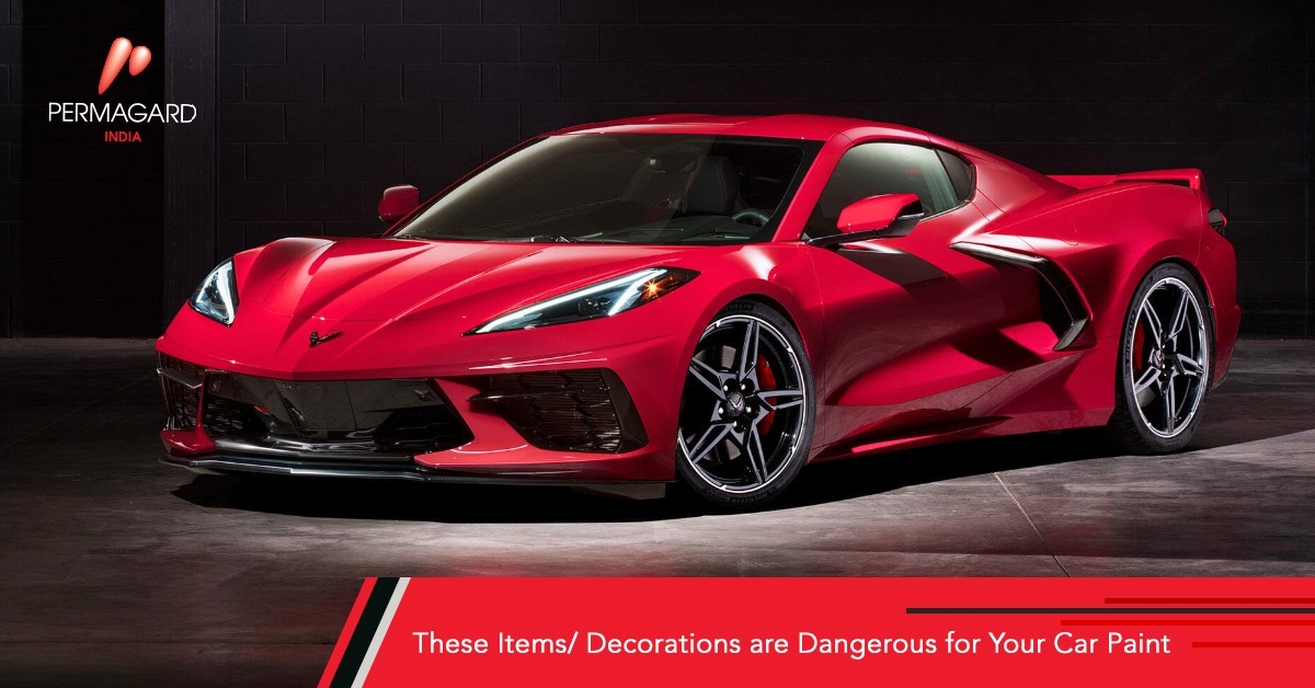 These Items are Dangerous for Your Car paint